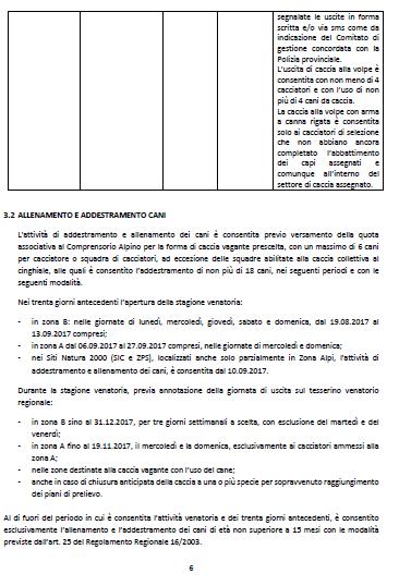 Calendario Venatorio Lombardia.Lombardia Il Calendario Venatorio Regionale 2017 2018 Le